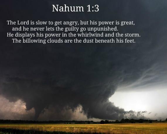 Cloud-Nahum 1;3